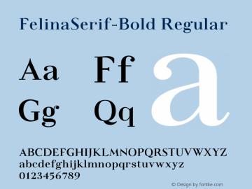 FelinaSerif-Bold