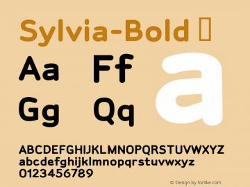 Sylvia-Bold