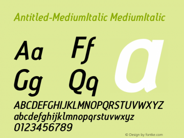 Antitled-MediumItalic