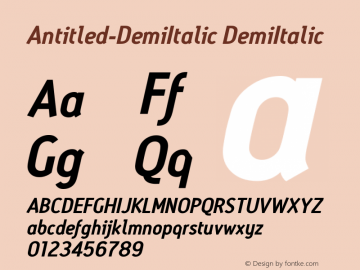 Antitled-DemiItalic