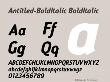 Antitled-BoldItalic