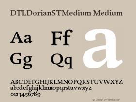 DTLDorianSTMedium