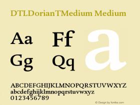 DTLDorianTMedium