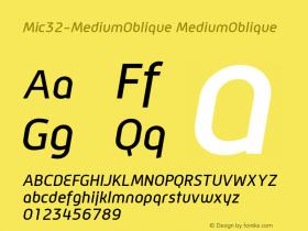 Mic32-MediumOblique