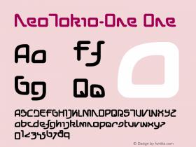 NeoTokio-One