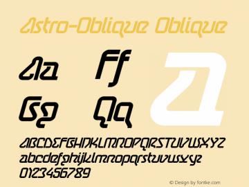 Astro-Oblique