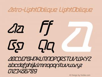 Astro-LightOblique