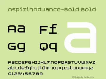 AspirinAdvance-Bold