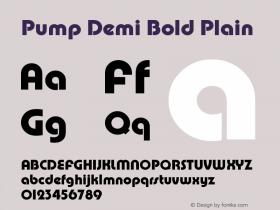 Pump Demi Bold