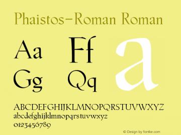 Phaistos-Roman