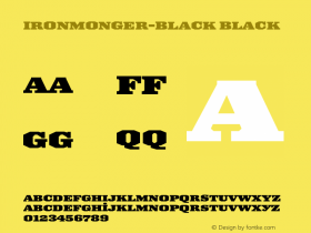Ironmonger-Black