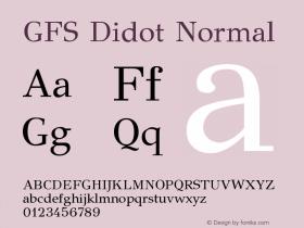 GFS Didot