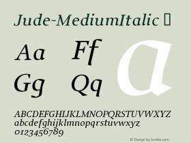 Jude-MediumItalic