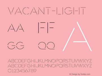 Vacant-Light