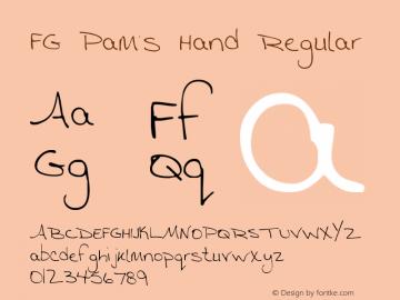 FG Pam's Hand