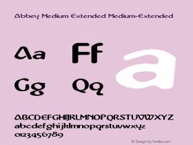 Abbey Medium Extended