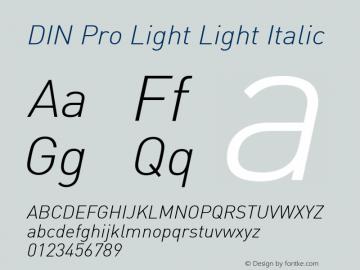 DIN Pro Light