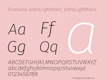 FiraSans-UltraLightItalic