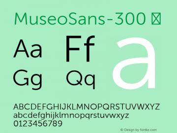 MuseoSans-300
