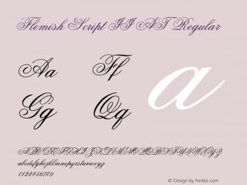 Flemish Script II AT