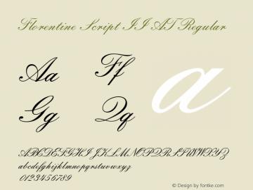 Florentine Script II AT