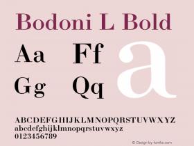 Bodoni L
