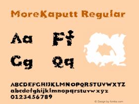 MoreKaputt