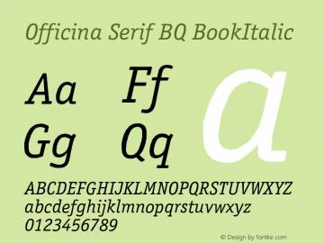 Officina Serif BQ