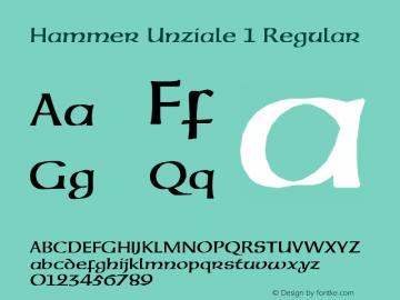 Hammer Unziale 1