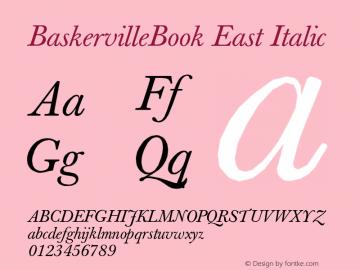 BaskervilleBook East