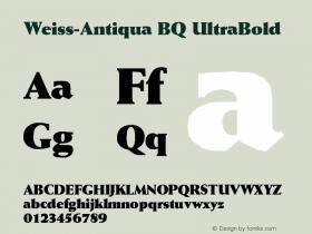 Weiss-Antiqua BQ