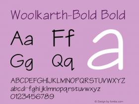 Woolkarth-Bold