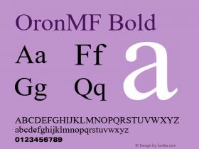 OronMF