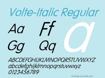 Volte-Italic