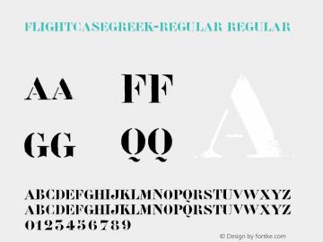 FlightcaseGreek-Regular