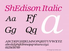 ShEdison