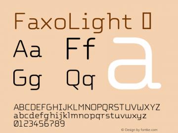 FaxoLight
