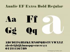 Annlie EF Extra Bold