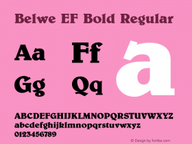 Belwe EF Bold