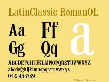 LatinClassic