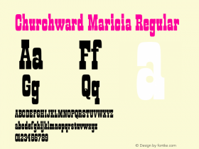 Churchward Maricia