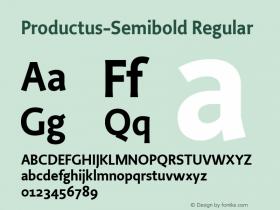 Productus-Semibold