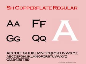Sh Copperplate