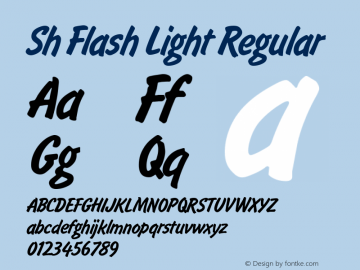 Sh Flash Light