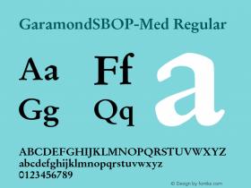 GaramondSBOP-Med