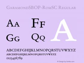 GaramondSBOP-RomSC