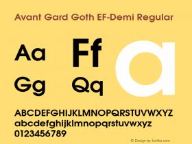 Avant Gard Goth EF-Demi