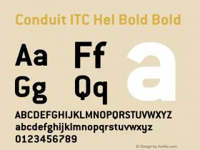 Conduit ITC Hel Bold