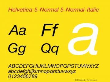 Helvetica-5-Normal