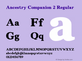 Ancestry Companion 2